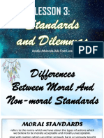Standards and Dilemmas