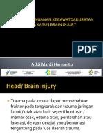 Konsep Penanganan Brain Injury