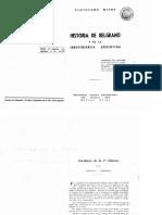 D. F. Sarmiento Corolario Historia de Belgrano