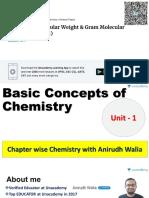 BASIC CONCEPTS OF CHEM