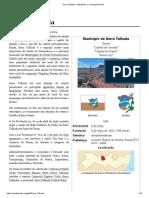 Serra Talhada – Wikipédia, A Enciclopédia Livre