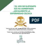 Glifosato Trigo Celiacos