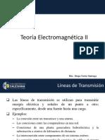 04 - [Teoria Electromagnética II] - P51 - [Capitulo # 2] - Lineas de Transmisión - [1]