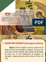 Estudo Teológico - Noções de Mariologia