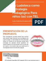 Ludoteca Como Estrategia Pedagogica Para El TEL