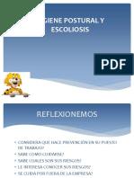 Higiene Postural Escoliosis