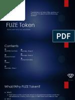 FUZE Token Roadmap v 1