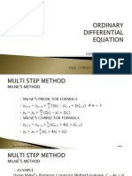 Lecture 4 - Differential Equation