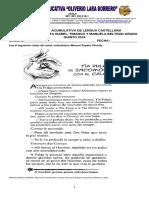 Acomulativa Lengua Castellana II Periodo