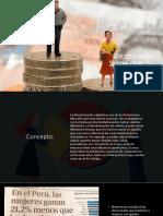 Discriminacion Salarial en El Peru