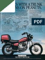 Yamaha Sr 250 Special - Manual de Restauracion-IT COMES WITH...