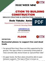 Floor Construction