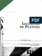 Lecciones de Puentes Eduardo Arnal