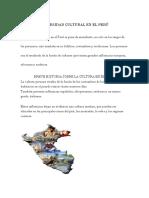 Diversidad Cultural en El Perú