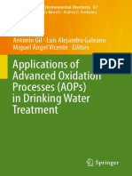 Applications of Advanced Oxidation Processes