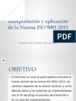 ISO 9001-2015 Presentacion
