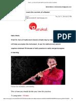 Flute Practice methods