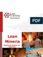 Propuesta Lean Training Mineria