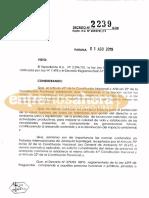 Decreto fumigaciones cerca de escuelas rurales (2239/2019)