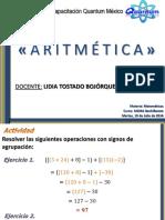 Clase Aritmética Bachillerato