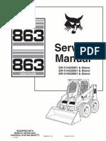 Bobcat 853 Service Manual