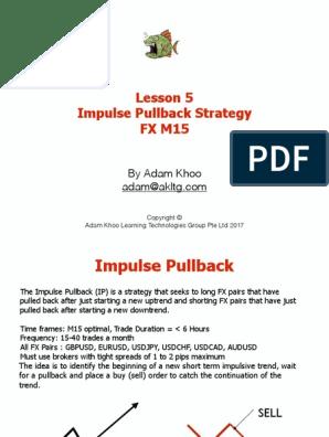 Impulse pullback strategy pdf