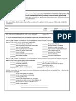 Survey Questionnaire v4