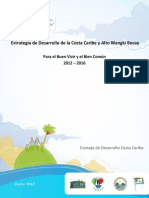 Gobierno-Estrategia CCaribe EDCC 2012 2016
