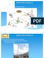 Redes regionales de fibra óptica