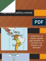 PPT sobre la organización de la república