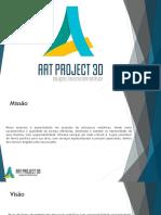 Apresentação Art Project 3D