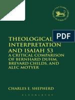 Theological Interpretation and Isaiah 53 - A Critical Comparison