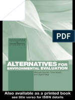 ALTERNATIVES FOR ENVIRONMENTAL EVALUATION