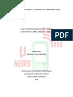 Modelo de Negocios U-News