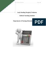 4. Drug Dosage Calculation Final
