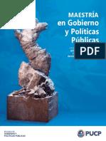 Brochure-Maestría-en-Gobierno-y-Políticas-Públicas-2019-II PUC Julio 2019