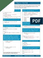 Data Sheet Python