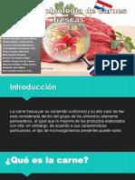 MICROBIOLOGIA DE CARNES FRESCAS