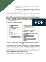 Verificación de Los Criterios de Negocios Verdes e Inclusivos.