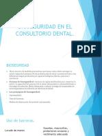 Bioseguridad en El Consultorio Dental