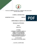 Informe Sales y Fosfatos