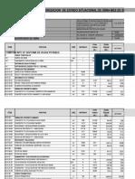 Ampliacion Presupuestal de Obra