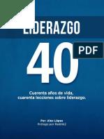 LIDERAZGO CUARENTA