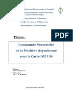 Commande Vectorielle de La Machine Async