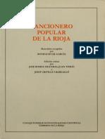 Crivillé (Ed.) - Cancionero Popular de La Rioja
