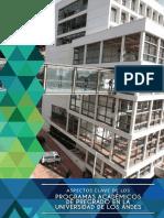Programas académicos de pregrado en la Universidad de los Andes