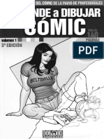 Aprende a Dibujar Comic 01 (Espanol, Cbr) Por Hunterarg - Desconocido