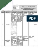 Planificacion tipo instalaciones electricas