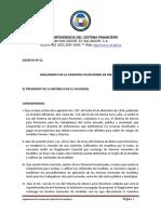 Reglamento de la Comisión Calificadora de Invalidez
