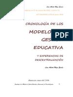 Modelos de Gestión Educativa en La Región de Educación de Junín 2015